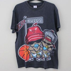 VTG Delta 1995 Chicago Bulls T-Shirt D406